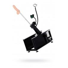 Секс-машина Diva Motion, с двумя насадками, металл, черная, 58 см