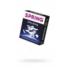 Презервативы Spring Ultra strong, утолщенные, латекс, 17,5 см, 3 шт