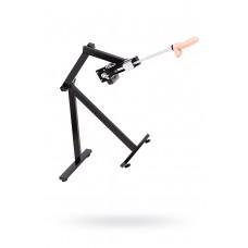Секс-машина Diva Robotic, с двумя насадками, металл, черная, 120 см