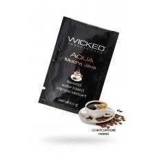 Лубрикант WICKED AQUA Mocha Java со вкусом кофе мокка 3 мл