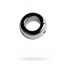Утяжелитель на мошонку, TOYFA Metal, серебристый, Ø4см, 420г