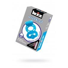 Виброкольцо LUXE VIBRO Дьявол в доспехах + презерватив, 1 шт, 18 см