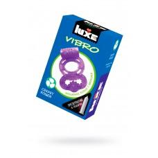 Виброкольцо LUXE VIBRO Секрет Кощея + презерватив, 1 шт, 18 см